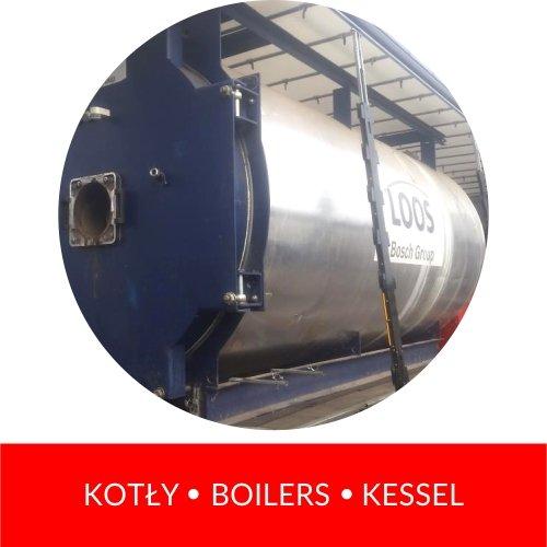 kotły boilers kessel
