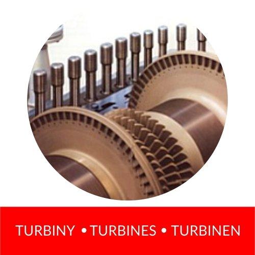 turbiny turbines turbinen