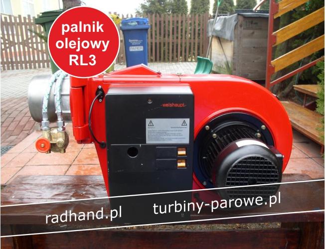 palnik olejowy weishaupt rl3