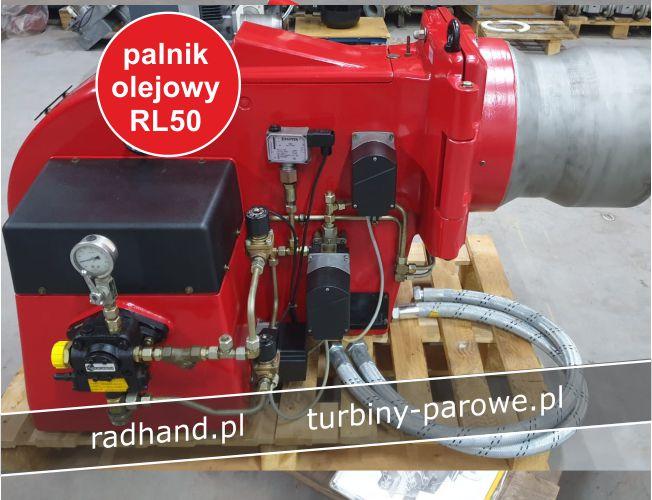 palnik RGL70 olejowo-gazowy
